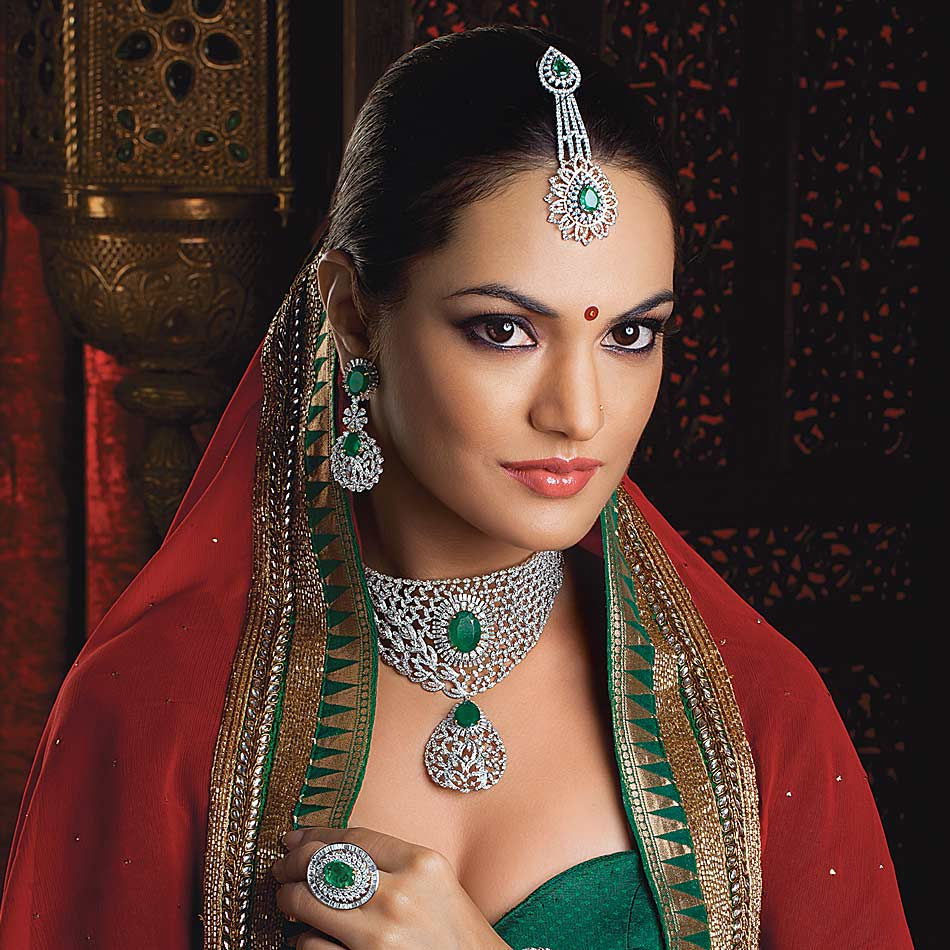 Best Diamond Jewellery Model Photography Branding Mumbai